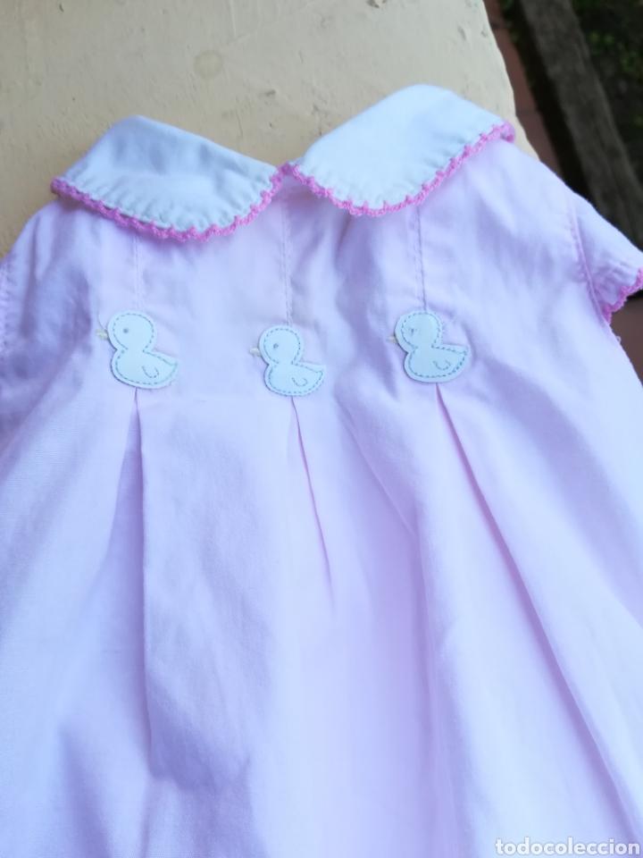 Vestidos Muñecas Españolas: Vestido rosa para muñeca pierina con tres patitos - Foto 6 - 133881529