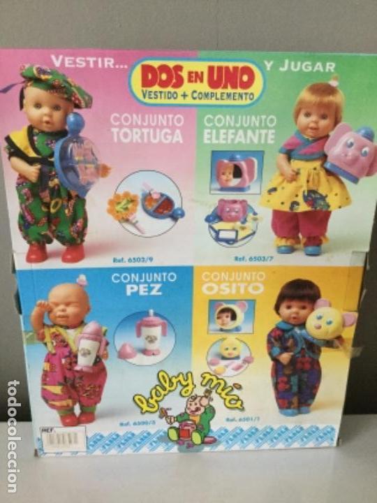 Vestidos Muñecas Españolas: BABY MÍO. VESTIDO Y COMPLEMENTO. FEBER. 1991. - Foto 2 - 134900786
