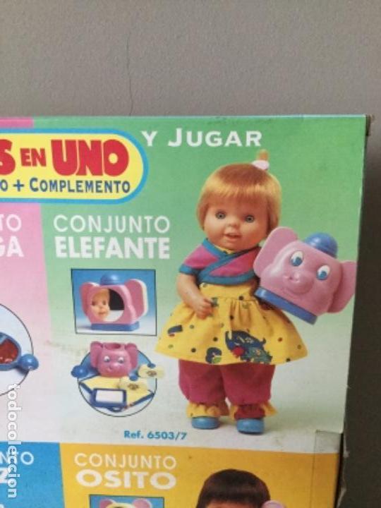 Vestidos Muñecas Españolas: BABY MÍO. VESTIDO Y COMPLEMENTO. FEBER. 1991. - Foto 3 - 134900786