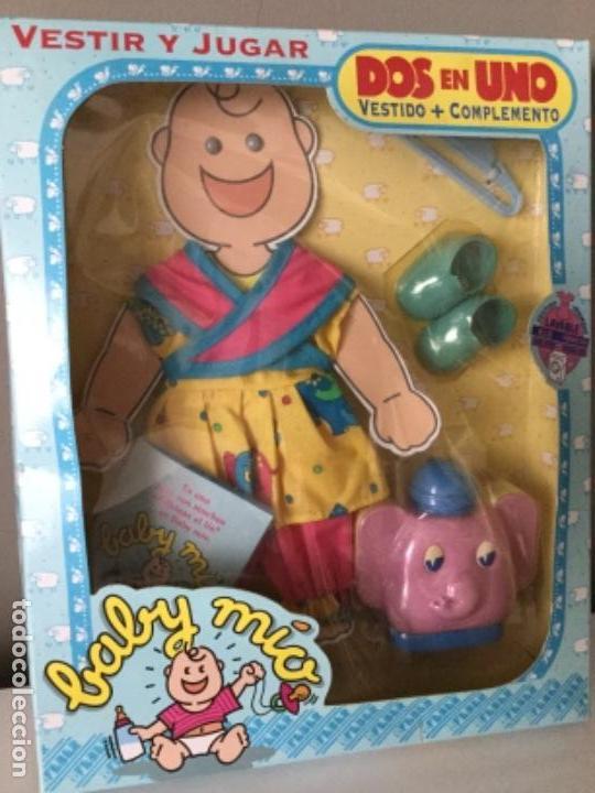 Vestidos Muñecas Españolas: BABY MÍO. VESTIDO Y COMPLEMENTO. FEBER. 1991. - Foto 6 - 134900786
