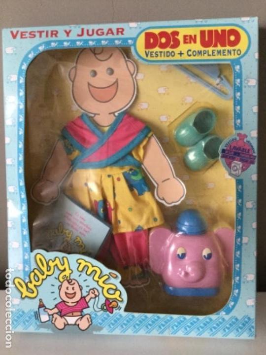 BABY MÍO. VESTIDO Y COMPLEMENTO. FEBER. 1991. (Juguetes - Vestidos y Accesorios Muñeca Española Moderna)