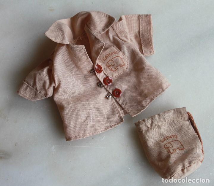 ¡OJO!, SÓLO CAMISA MODELO SAFARI DE BABY MOCOSETE (Juguetes - Vestidos y Accesorios Muñeca Española Moderna)