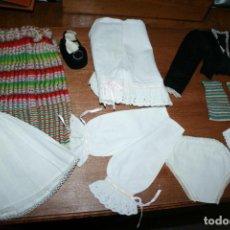 Vestidos Muñecas Españolas: ALBACETE. TRAJE DE MANCHEGA PARA MUÑECA, ARTESANAL, REFAJO HECHO EN TELAR. 8 PRENDAS. AÑOS 50. Lote 137395718