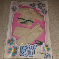 Vestidos Muñecas Españolas: VESTIDO MUÑECA LESLY. Lote 137443210