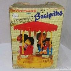 Vestidos Muñecas Españolas - BARRIGUITAS TIOVIVO MUSICAL. FAMOSA. EN CAJA. TIO VIVO. - 162325700