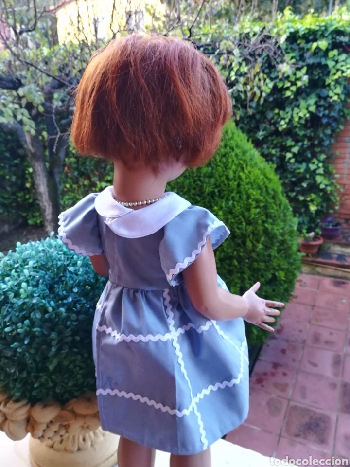 Vestidos Muñecas Españolas: Vestido de algodon y braguita a juego con piculina para muñeca de 50.-55 -64 - Foto 5 - 139165280