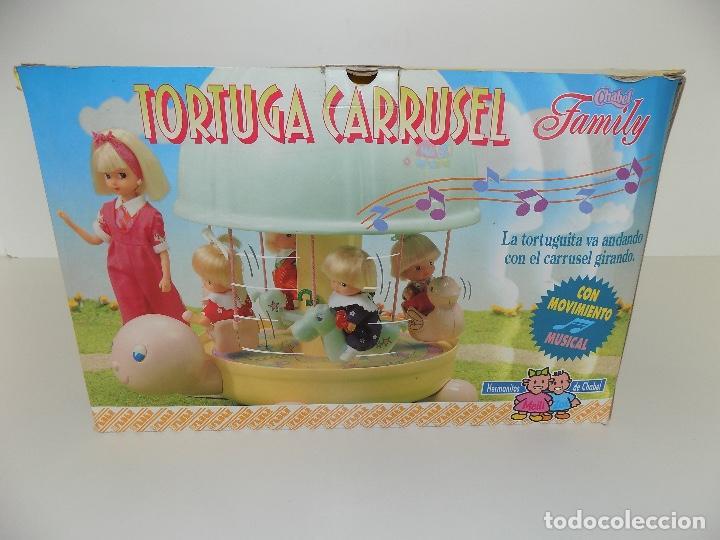 Vestidos Muñecas Españolas: TORTUGA CARRUSEL CHABEL FAMILY. MARCA FEBER. Original años 80/90. Nuevo, a estrenar! - Foto 6 - 141547122