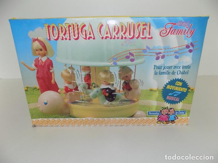 Vestidos Muñecas Españolas: TORTUGA CARRUSEL CHABEL FAMILY. MARCA FEBER. Original años 80/90. Nuevo, a estrenar! - Foto 10 - 141547122