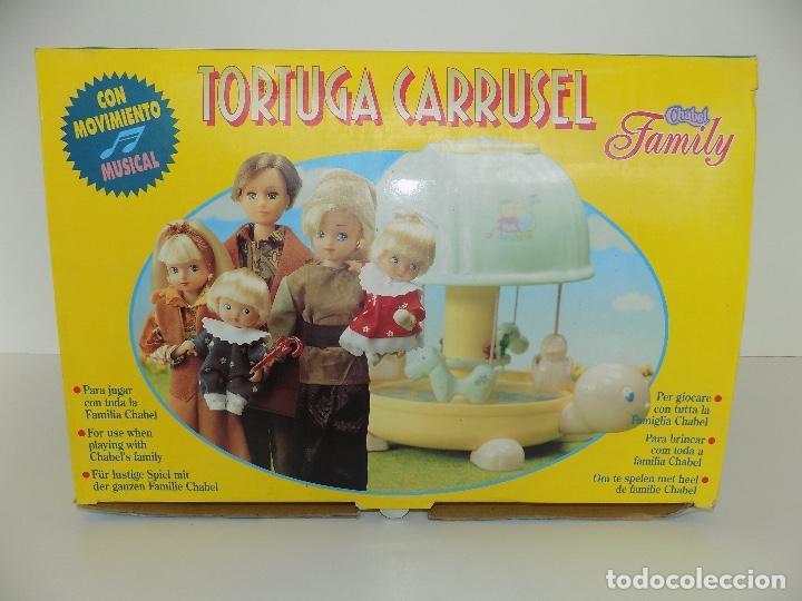 Vestidos Muñecas Españolas: TORTUGA CARRUSEL CHABEL FAMILY. MARCA FEBER. Original años 80/90. Nuevo, a estrenar! - Foto 12 - 141547122