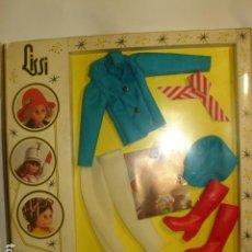 Vestidos Muñecas Españolas: CONJUNTO CHAQUETA AZUL PARA LA MUÑECA MANIQUÍ LISSI DE GUILLEM Y VICEDO. Lote 142910802