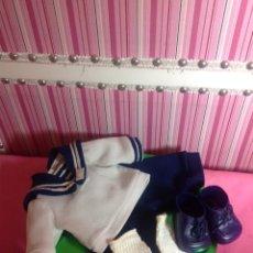 Vestidos Muñecas Españolas: CONJUNTO BABY MOCOSETE MARINERO. Lote 143589792
