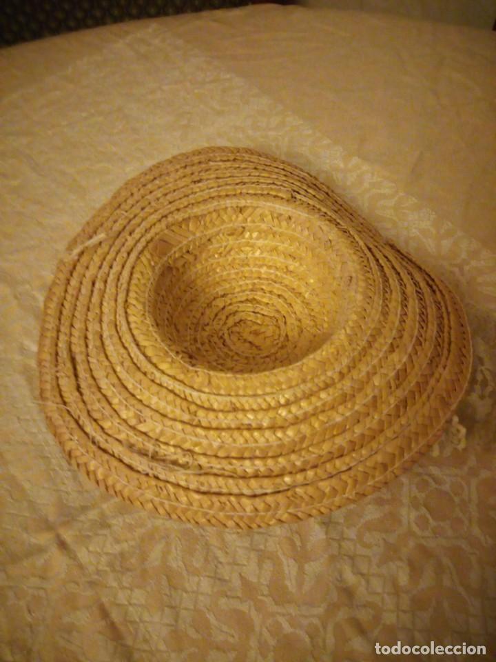 Vestidos Muñecas Españolas: Precioso sombrero de paja con flores y lazos para mariquita perez y similares. - Foto 4 - 144501054