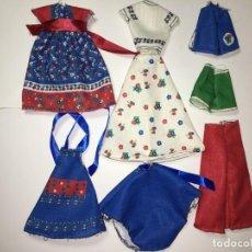 Vestidos Muñecas Españolas: CORTA Y COSE DE MUÑECA LESLY. Lote 144891682