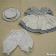 Vestidos Muñecas Españolas: PRECIOSO VESTIDO PARA MUÑECA DE 35 A 40 CM DE ALTURA. Lote 145177766