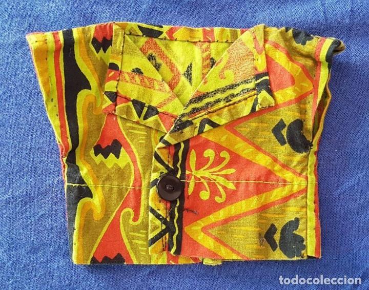 == AB55 - BLUSITA PARA MUÑECA - 12 CM. DE SISA A SISA X 10 CM. DE LARGO (Juguetes - Vestidos y Accesorios Muñeca Española Moderna)