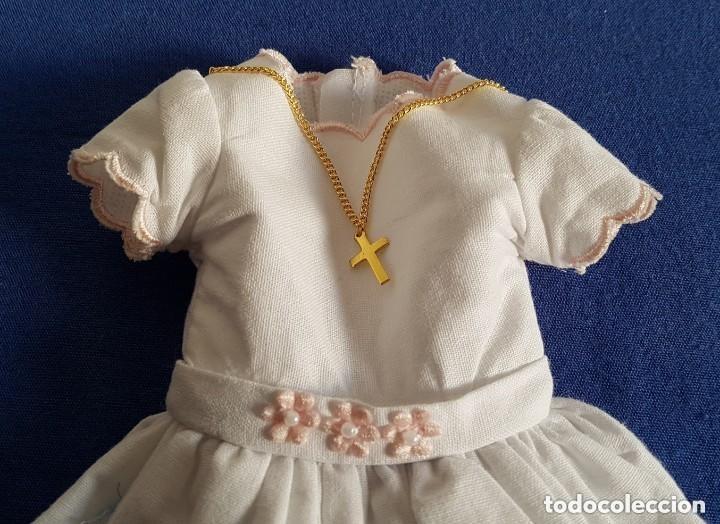 Vestidos Muñecas Españolas: == Q18 - VESTIDO DE PRIMERA COMUNION DE NANCY DE REEDICION - Foto 2 - 146465698