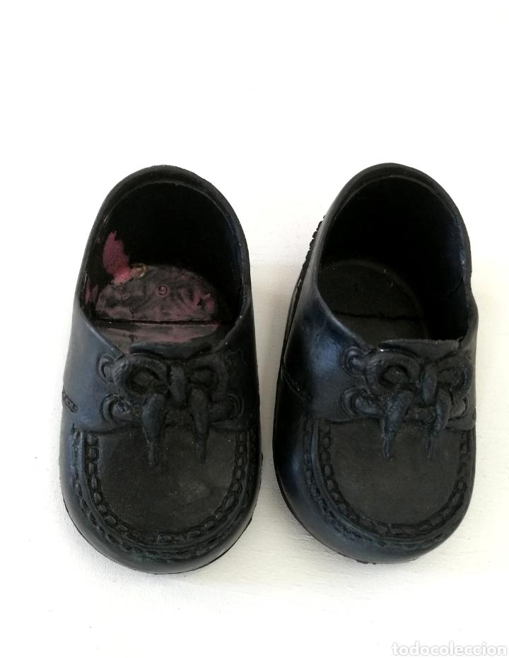bastante agradable eef79 e9b05 Zapatos negros nenucos mocasines Famosa años 80