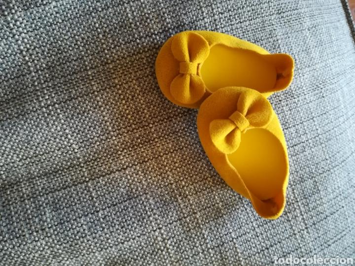 Vestidos Muñecas Españolas: Zapatos de muñeca simil ante 7x4 - Foto 2 - 146973569