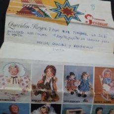Vestidos Muñecas Españolas: CARTA A LOS REYES MAGOS AÑOS 70 DE MUÑECAS JESMAR. Lote 147743818