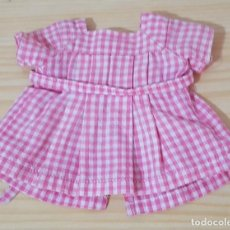 Vestidos Muñecas Españolas: == L10 - BONITO VESTIDO - 10 CM. DE SISA A SISA, 12 CM. DE LARGO. Lote 147959858