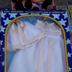 Vestidos Muñecas Españolas: EQUIPO BAUTIZO BABY MOCOSETE. Lote 148833360