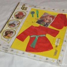 Vestidos Muñecas Españolas: VINTAGE - ANTIGUO SET DE ROPA Y COMPLEMENTOS LISSI - IBI ALICANTE - GUILLEM Y VICEDO - ENVÍO 24H -03. Lote 149387334
