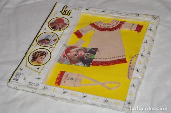 VINTAGE - ANTIGUO SET DE ROPA Y COMPLEMENTOS LISSI - IBI ALICANTE - GUILLEM Y VICEDO - ENVÍO 24H -04 (Juguetes - Vestidos y Accesorios Muñeca Española Moderna)