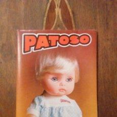 Vestidos Bonecas Espanholas: CATÁLOGO MUÑECA PATOSO. Lote 150845944