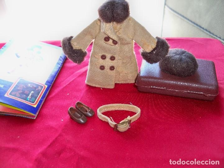 Vestidos Muñecas Españolas: Antigua ropa de la FAMILIA HOGARIN , de mamá sale de viaje, Ref. 6430 - Foto 10 - 247990325