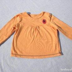 Vestidos Muñecas Españolas: VESTIDO NARANJA PARA MUÑECA BEBÉ O REBORN. Lote 152292738
