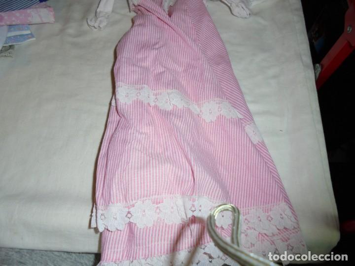 Vestidos Muñecas Españolas: VESTIDO LARGO PARA MUÑECOS ETIQUETA DE LA MARCA MUÑECAS BB - Foto 11 - 154172282