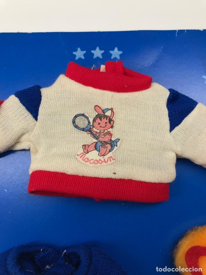 Vestidos Muñecas Españolas: Conjunto para Baby Mocosin de Toyse en estuche original - Foto 2 - 154952392