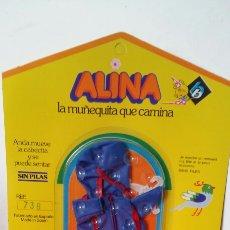 Vestidos Muñecas Españolas: CHUBASQUERO ALINA.MUÑECAS BB 70S.NUEVO.. Lote 156690520
