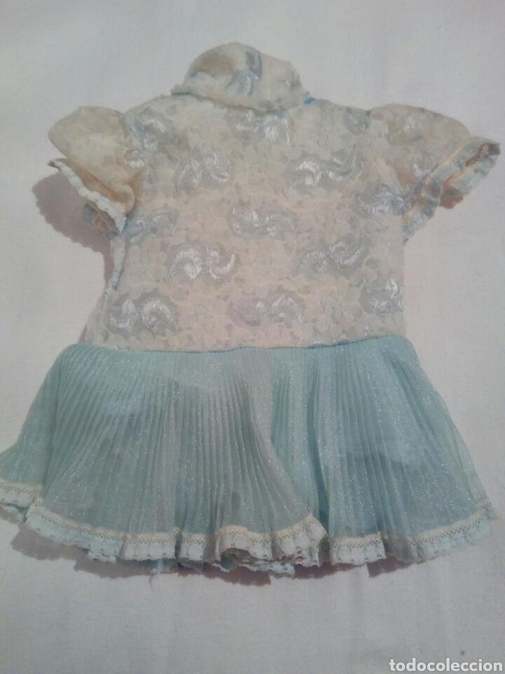 VESTIDO MUÑECA ANTIGUA LUCHY MAMA DE JESMAR (Spielzeug - Moderne spanische Puppen - Originale Kleider und Accessoires)