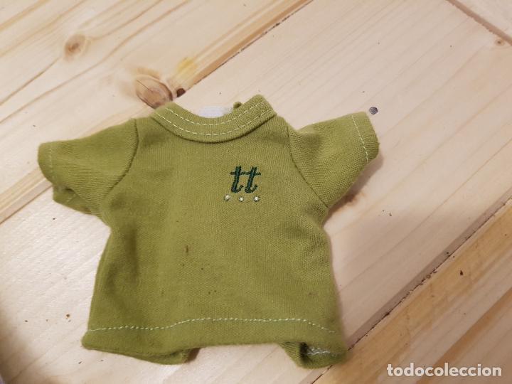 MUÑECA NICOLETA DE IMAGINARIUM - CAMISETA VERDE ORIGINAL (Spielzeug - Moderne spanische Puppen - Originale Kleider und Accessoires)