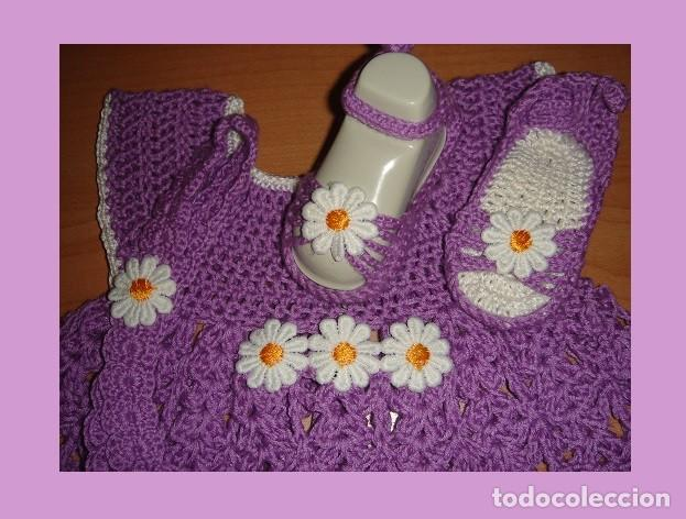 32a3a9112 Vestidos Muñecas Españolas  VESTIDO