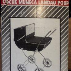 Vestidos Muñecas Españolas: COCHE / CARRITO MUÑECA VERDOR CON CAPOTA NUEVO. Lote 162346689