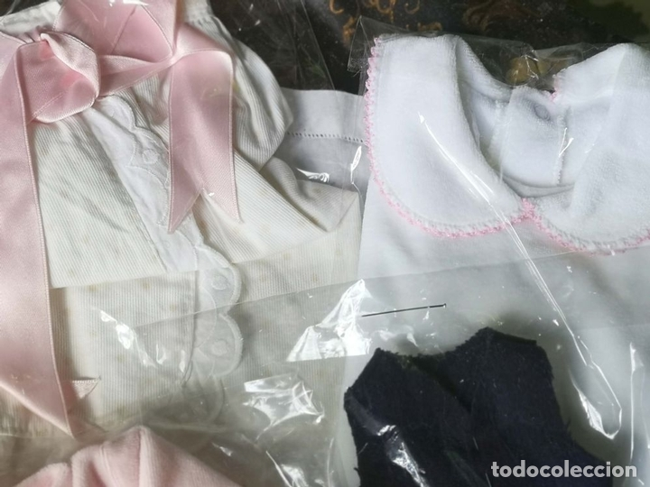 Vestidos Muñecas Españolas: LOTE DE ROPA PARA MUÑECAS. TAMAÑO NENUCO. ESPAÑA. AÑOS 70 - Foto 6 - 163039450