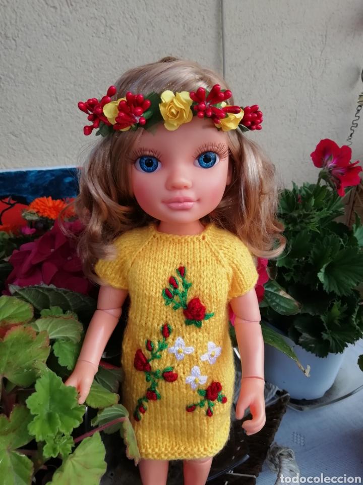 Vestidos Muñecas Españolas: Conjunto (vestido +diadema) para Nancy de Famosa - Foto 2 - 164577096