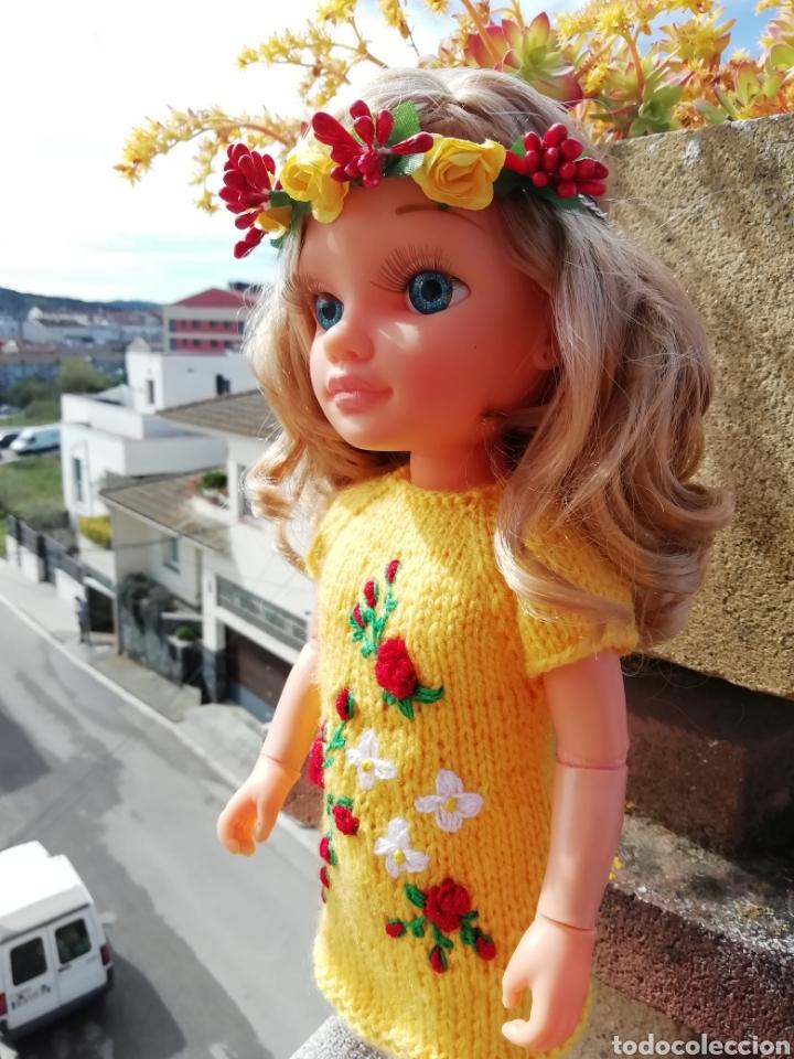 Vestidos Muñecas Españolas: Conjunto (vestido +diadema) para Nancy de Famosa - Foto 3 - 164577096