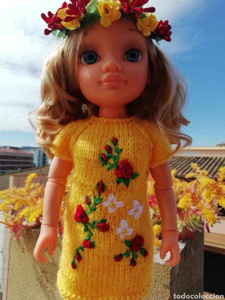 Vestidos Muñecas Españolas: Conjunto (vestido +diadema) para Nancy de Famosa - Foto 4 - 164577096