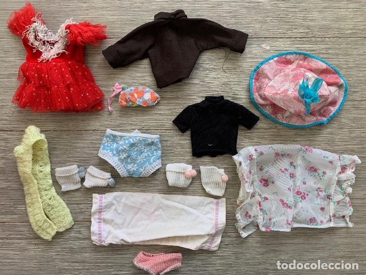 Vestidos Muñecas Españolas: LOTE DE ROPA PARA MUÑECAS PEQUEÑA VARIADA, CAMISA MARRON Y CAMISA NEGRA - Foto 2 - 165343786
