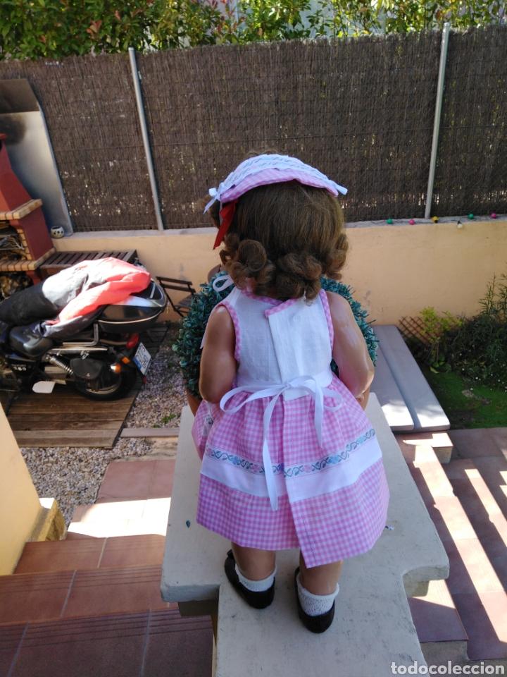 Vestidos Muñecas Españolas: Vestido y s rosa y blanco con sombrerito para muñeca de 50cm .30 - Foto 5 - 169029092