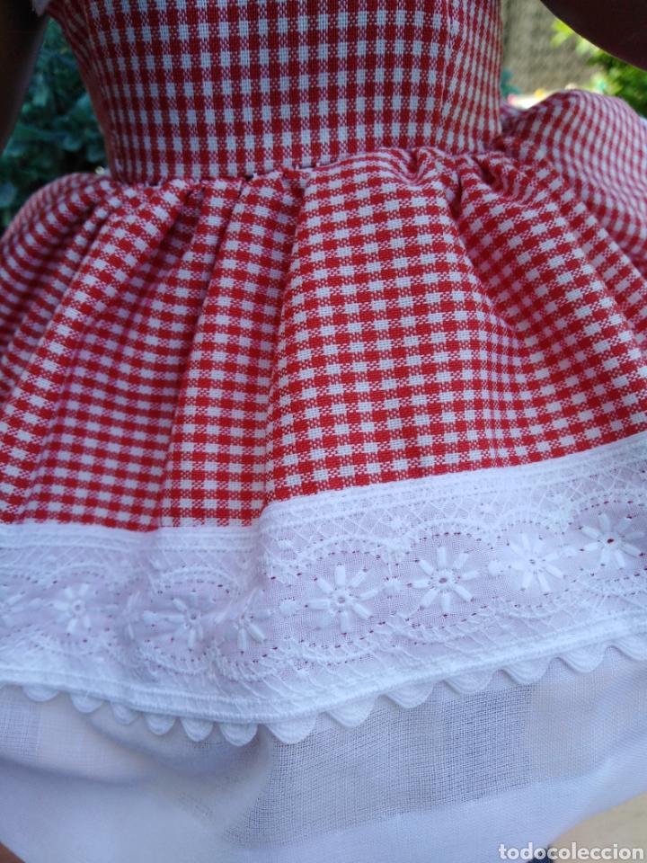 Vestidos Muñecas Españolas: Vestido y braguita para muñeca Cayetana ..35 - Foto 8 - 184904145