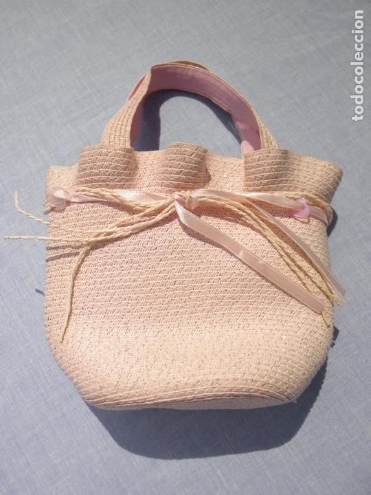 Vestidos Muñecas Españolas: Bolsito rosa para muñecas - Foto 2 - 171978965