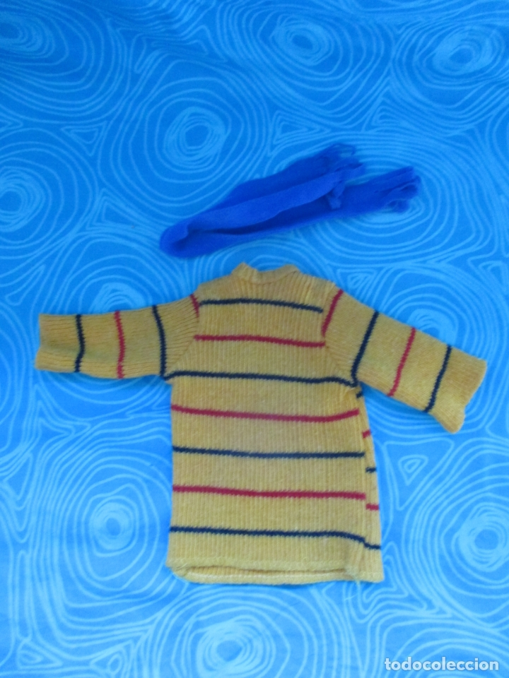CONJUNTO ORIGINAL PIPI CALZASLARGAS DE TOYSE. (Juguetes - Vestidos y Accesorios Muñeca Española Moderna)