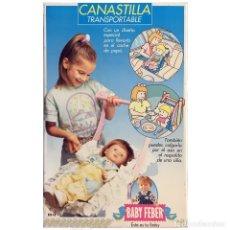 Vestidos Muñecas Españolas: FEBER BABY FEBER CANASTILLA TRANSPORTABLE. Lote 174974247