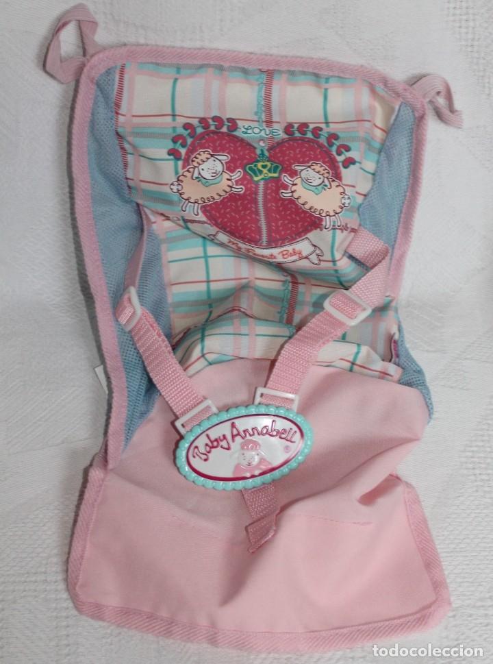 FUNDA DE SILLA DE PASEO PARA BABY ANNABELLE , BUEN ESTADO (Juguetes - Vestidos y Accesorios Muñeca Española Moderna)