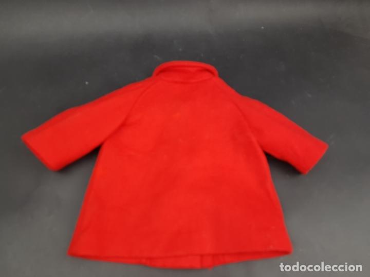 Vestidos Muñecas Españolas: abrigo muñeca antigua paño años 60 70 - Foto 4 - 176223852