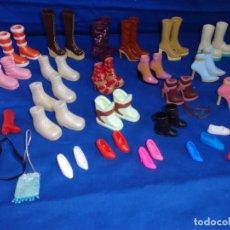 Vestidos Muñecas Españolas: BRATZ - LOTE DE ZAPATOS MUÑECA BRATZ,BARBIE ETC VER FOTOS Y DESCRIPCION! SM. Lote 176302212
